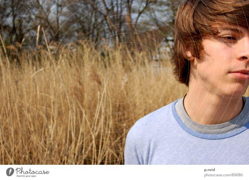 das ist patrick !!! Mann braun Porträt Sommer Physik frisch beweglich Esprit Freude Jugendliche Wärme zielstrebig frei sun youth young manhood
