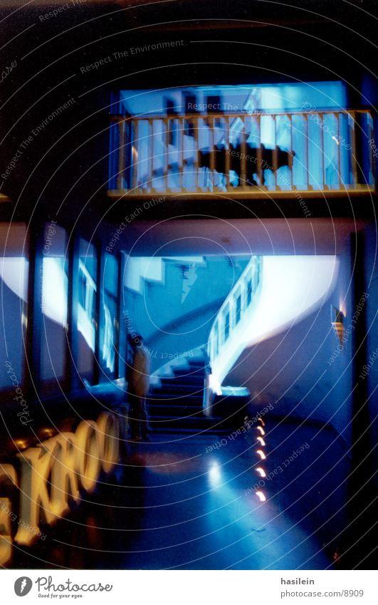 eingang blau Architektur Café Eingang Amsterdam