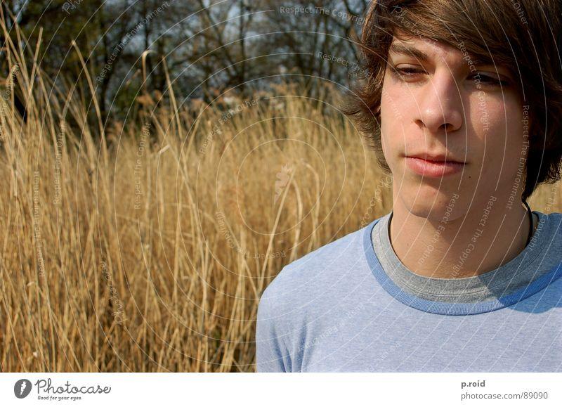 und das ist patrick !!! Mann Jugendliche Sommer Wärme braun frei frisch Physik beweglich zielstrebig Porträt