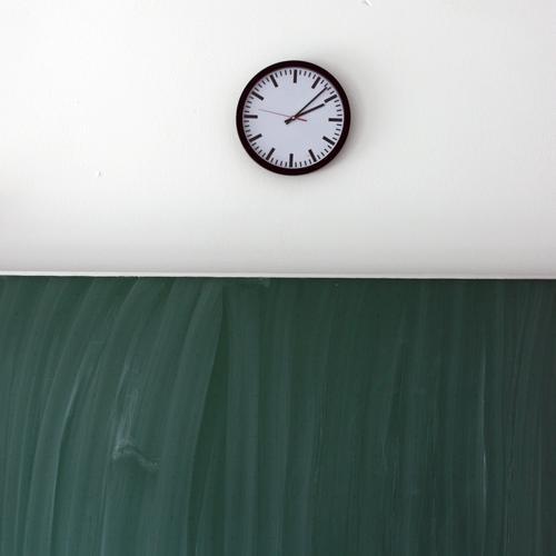 time Zeit Schule Uhr lernen Bildung Tafel
