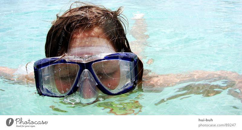 hach.. Ich bin ja sooo müde - Tauchen Teil 2 Wasser Ferien & Urlaub & Reisen Freude ruhig Auge Haare & Frisuren Wärme Luft träumen nass Schwimmen & Baden