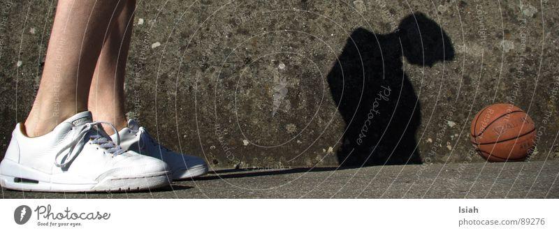 Lucky Luke Schuhe Sport Spielen Schatten shoes white Basketball streetball lucky luke alle anderen auch