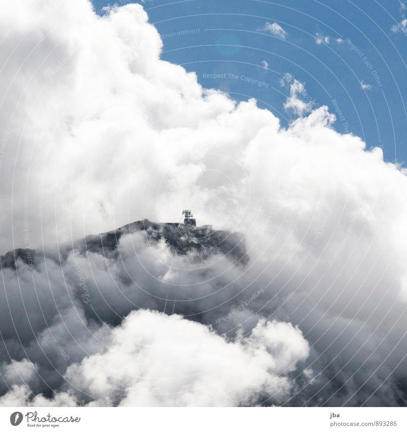 Gemskopf Himmel Natur Sommer Wolken Berge u. Gebirge Leben Herbst klein Freiheit Luft Wind Tourismus groß wandern Ausflug bedrohlich