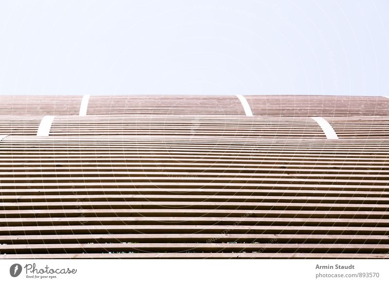 Lattendach blau Hintergrundbild Horizont ästhetisch Dach dünn Holzbrett Filter Gewächshaus magenta