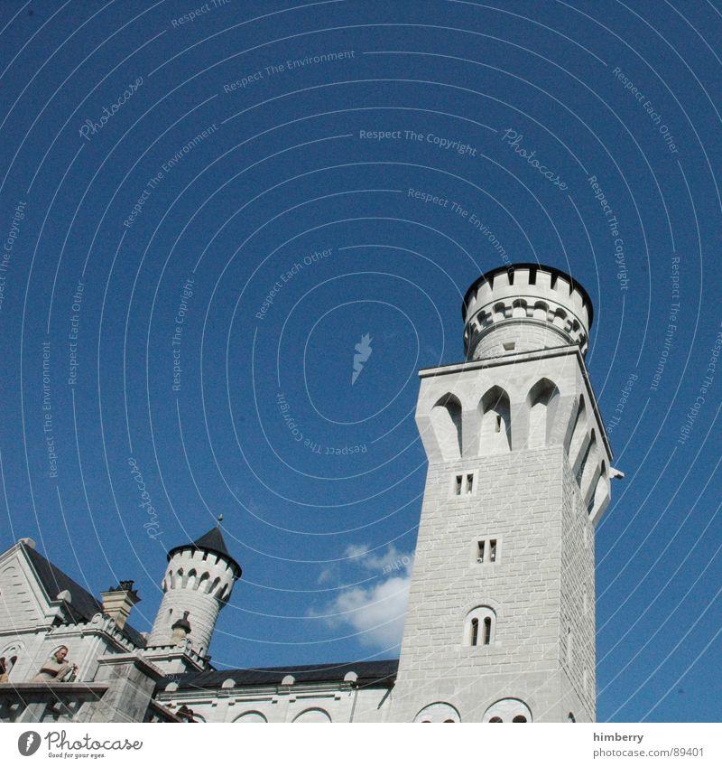 eternal mystery II Deutschland Turm Burg oder Schloss Denkmal historisch Wachsamkeit Wahrzeichen König Palast Rückzug Neuschwanstein Wachturm Königlich