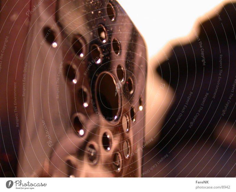 Reflektion glänzend Licht Chrom Fototechnik Metall Schatten