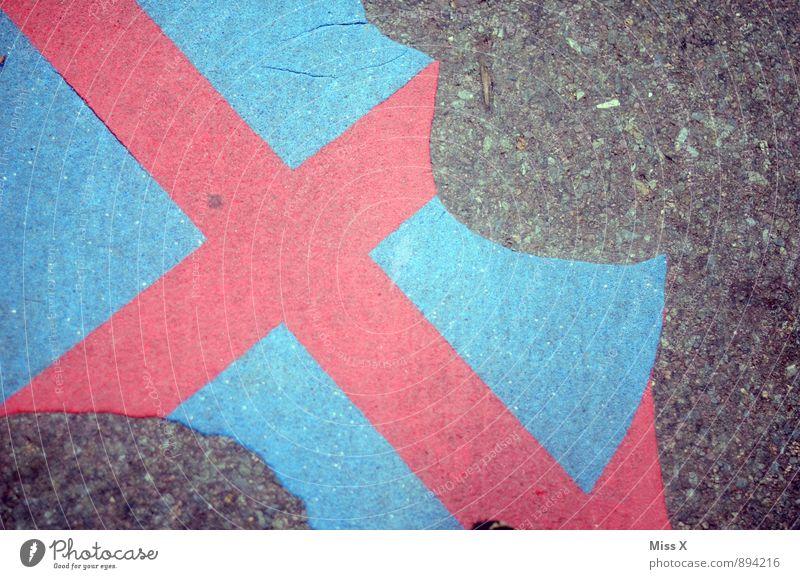 Abs lut s Ha teverb t Verkehr Verkehrswege Straße Verkehrszeichen Verkehrsschild Schilder & Markierungen Hinweisschild Warnschild kaputt Verbote Verfall