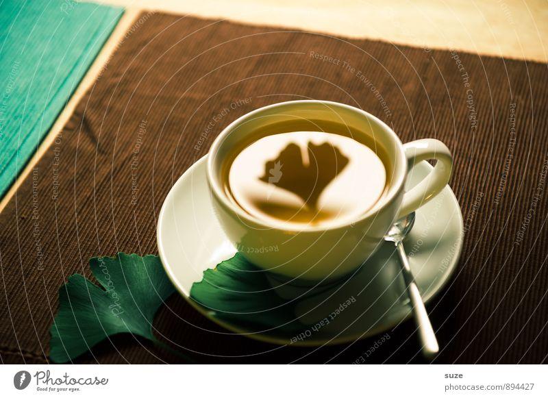 Seelenbalsam   Tee grün Erholung Blatt ruhig Gesunde Ernährung Leben natürlich Stil Gesundheit braun Gesundheitswesen Lifestyle Zufriedenheit Getränk einzigartig zart