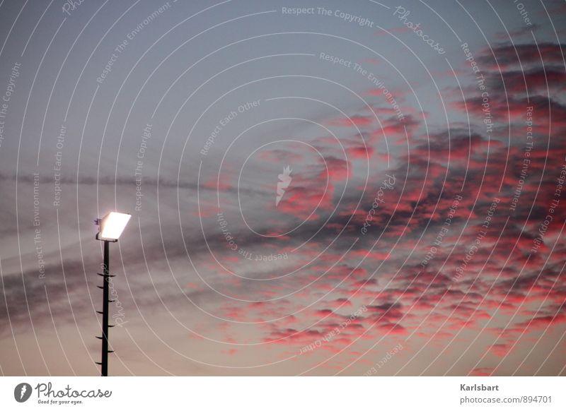 Yesterday is gone ... Himmel Wolken Beleuchtung Sport Freiheit Lampe Energiewirtschaft Elektrizität Sicherheit erleuchten Veranstaltung Strahlung Abenddämmerung