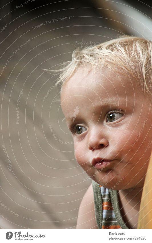 Peter Pausbacke Mensch Kind Sommer Freude Gesicht Leben Bewegung Junge Spielen Familie & Verwandtschaft maskulin Häusliches Leben Kindheit blond Fröhlichkeit lernen