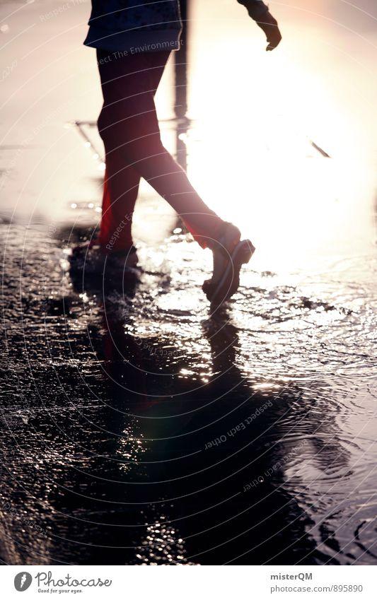 rain lover. Kunst ästhetisch Zufriedenheit Pfütze herbstlich Herbstfärbung Herbstbeginn Herbstwetter Herbstwind Herbststurm Herbsthimmel Kindheit Spielen laufen