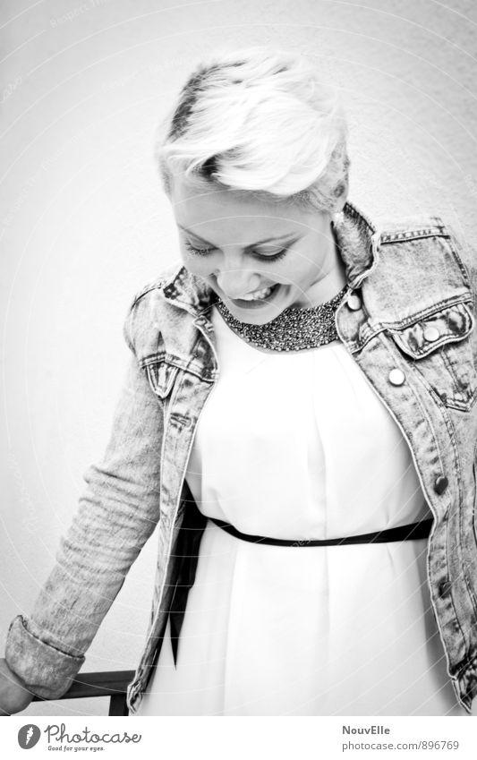 Life. Mensch Frau Jugendliche schön Junge Frau 18-30 Jahre Erwachsene Gefühle feminin Haare & Frisuren Gesundheit Stimmung Freizeit & Hobby Zufriedenheit blond