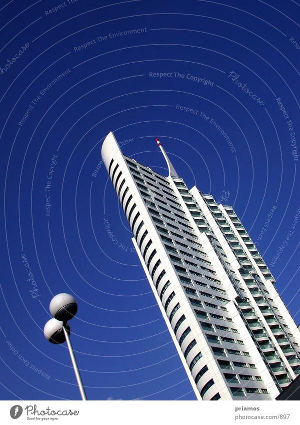 skyscraper Stadt Lampe Gebäude Architektur Hochhaus