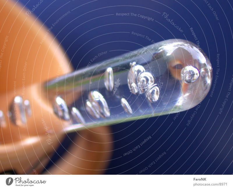Tasse mit Löffel Luftblase Fototechnik