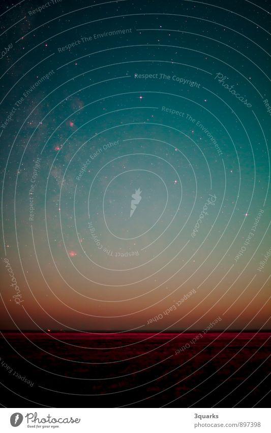 Nachthimmel über St. Peter-Ording mit Milchstraße Strand Horizont Weltall Astrofotografie Astronomie stern sterne sternfeld sternenhimmel Milchstrasse