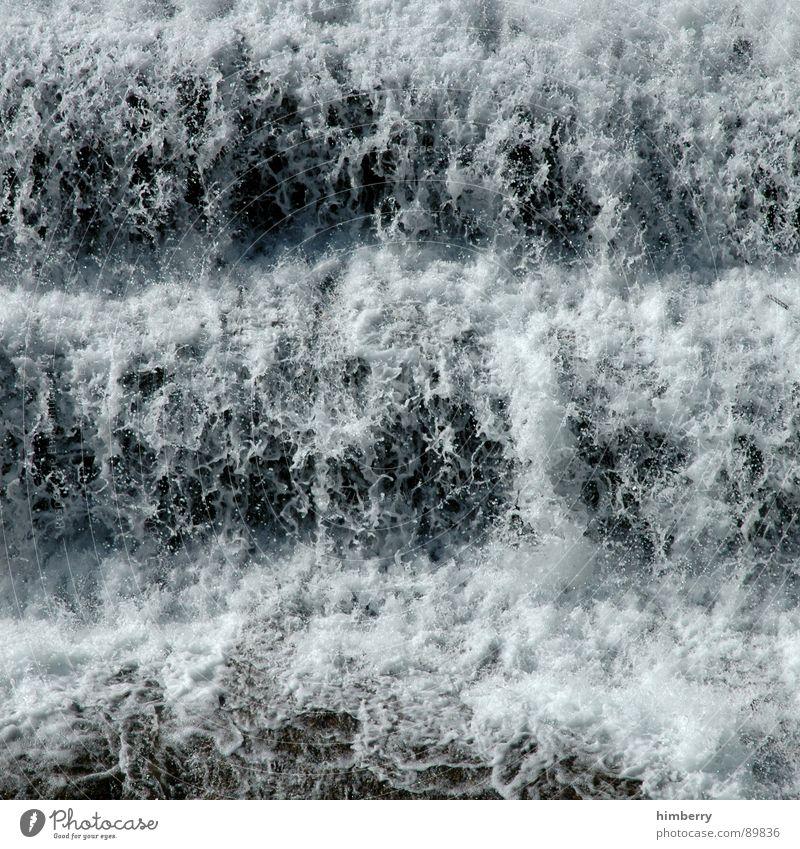 freeze it Natur Wasser nass Wassertropfen Fluss Schifffahrt Bach Wasserfall Naturgewalt