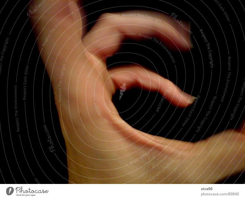 bewegte Hand 4 Mensch Hand schwarz Bewegung Haut Finger Geschwindigkeit