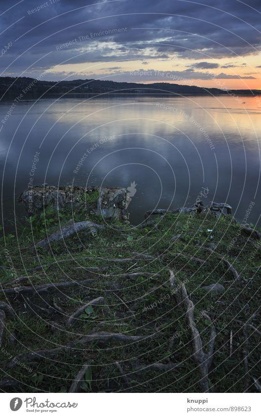 erwachen Umwelt Natur Landschaft Pflanze Urelemente Luft Wasser Himmel Wolken Nachthimmel Horizont Sonne Sonnenaufgang Sonnenuntergang Sonnenlicht Sommer Herbst