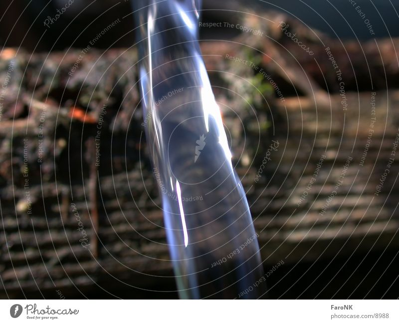 Wasserstrahl Strahlung Fototechnik blau