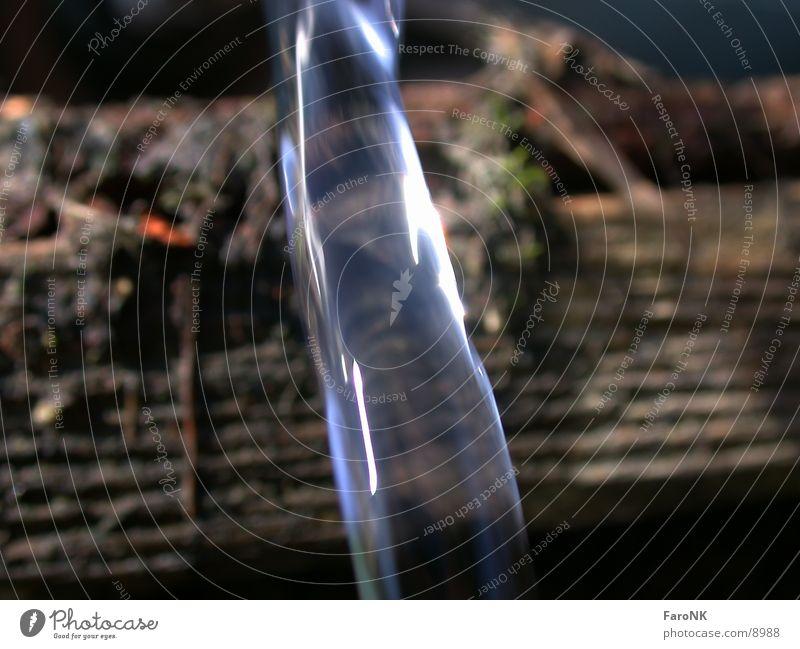 Wasserstrahl Wasser blau Strahlung Fototechnik