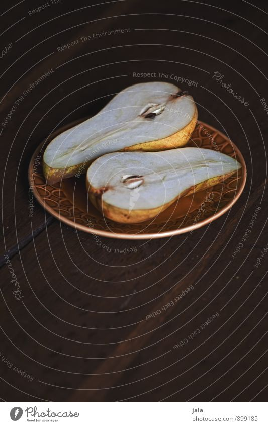 birne Gesunde Ernährung natürlich Gesundheit Speise Lebensmittel Foodfotografie Frucht frisch Ernährung lecker Appetit & Hunger Bioprodukte Geschirr Frühstück Teller Picknick