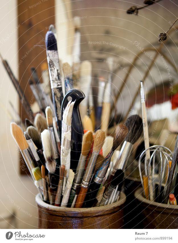 Pinsel Freizeit & Hobby Werkstatt Atelier Künstlerwerkstatt Malschule Studium Arbeit & Erwerbstätigkeit Anstreicher zeichnen Inspiration musisch Kunst Kreativ