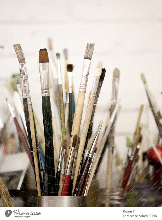 Stillleben Atelier Kunst Arbeit & Erwerbstätigkeit Freizeit & Hobby Kreativität Lebensfreude Gemälde Leidenschaft zeichnen Handwerk Arbeitsplatz Pinsel