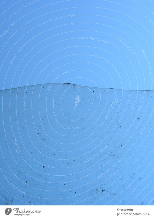 vorher-nachher Wasser Meer blau Wellen dreckig Glas Sauberkeit rein Klarheit Grenze obskur Teilung durchsichtig Trennung hässlich trüb
