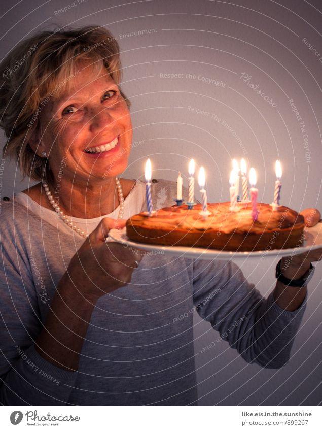 HAPPY BIRTHDAY! feminin Glück Feste & Feiern Zufriedenheit Geburtstag Kerze Geburtstagstorte