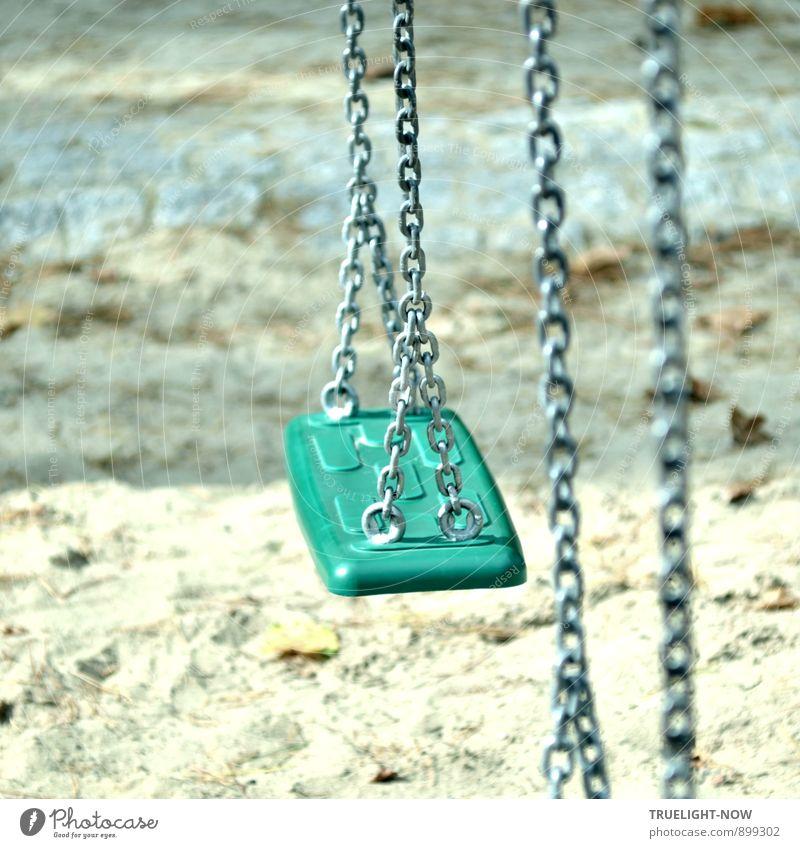 Wohlfühloase | Schaukel: blau weiß Sommer Sonne Erholung ruhig Freude Leben Bewegung lustig Spielen grau Glück Freiheit wild Zufriedenheit