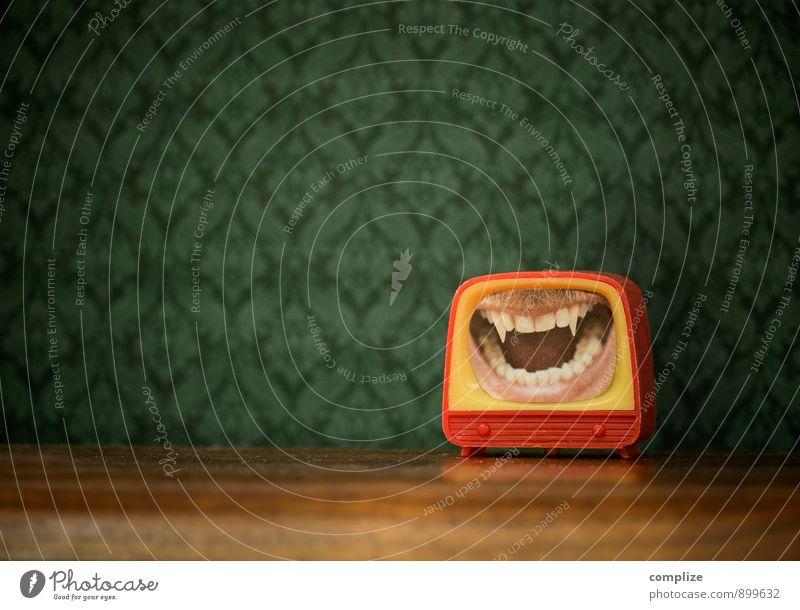 No. 666 Lifestyle Gesundheit Freizeit & Hobby Technik & Technologie Unterhaltungselektronik maskulin Mund Zähne Aggression gruselig stachelig träumen Angst