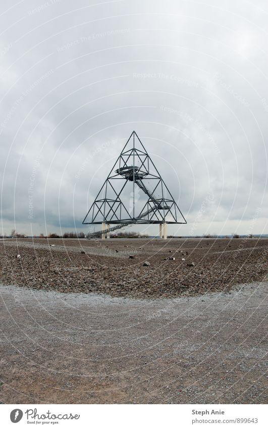 Tetraeder Architektur Kunst modern ästhetisch Sehenswürdigkeit Skulptur Industriekultur