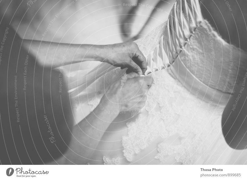 Schnüre Hand träumen elegant Körper Rücken Hochzeit Kleid Schleife Braut Brautkleid