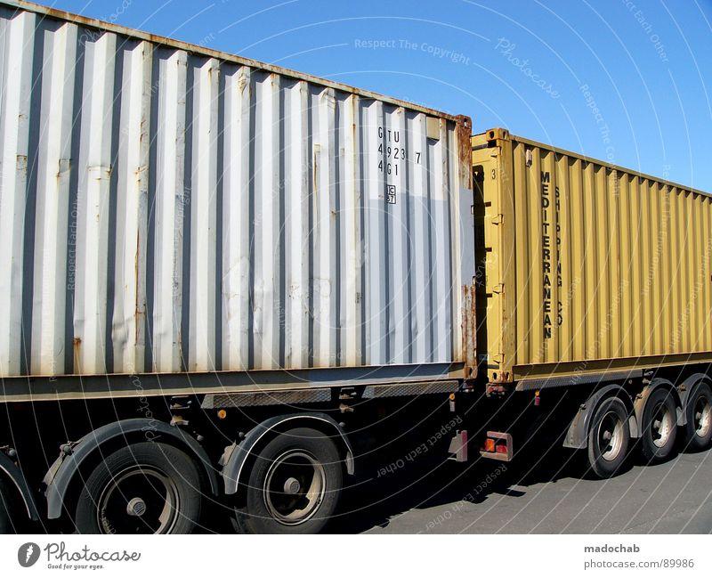 NEXT DINGS Lastwagen Fass Güterverkehr & Logistik Himmel frisch Verkehr Kraft transit PKW Gefolgsleute Container sky Lager Versand Straße
