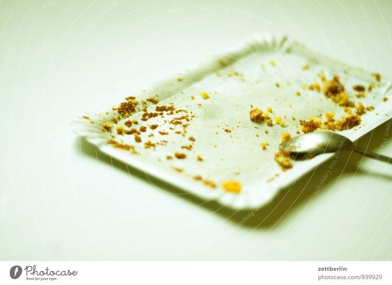 Kuchen Gesunde Ernährung Essen Speise Foodfotografie leer Ernährung Tisch Küche Tiefenschärfe Müll Bioprodukte Kuchen Karton Dessert Zucker Rest