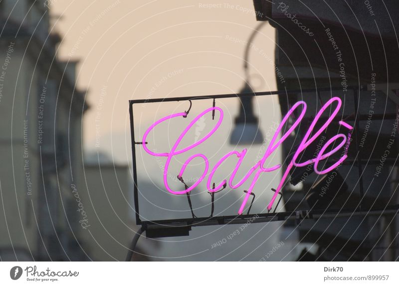 Italian Delights blau Haus schwarz grau Lampe Lebensmittel Metall Lifestyle leuchten Schilder & Markierungen Glas Schriftzeichen Getränk retro Kabel Italien