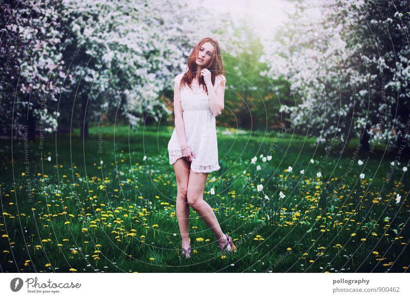 springtime Mensch Frau Natur Ferien & Urlaub & Reisen Jugendliche Pflanze Sommer Junge Frau Sonne Landschaft 18-30 Jahre Erwachsene Leben Frühling Wiese Gras