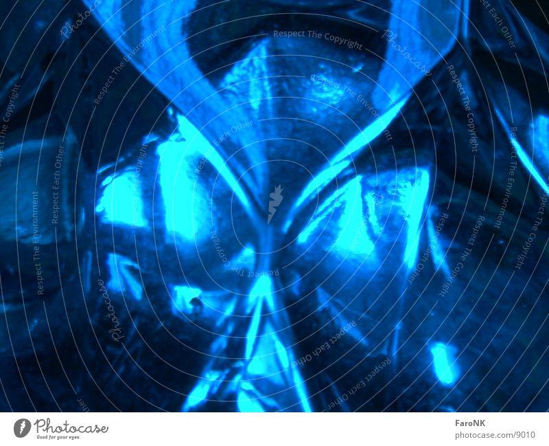 Aschenbecher Fototechnik Glas blau