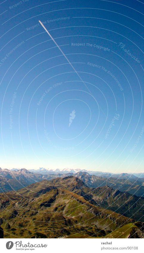 currently not available II Himmel Ferien & Urlaub & Reisen Einsamkeit Erholung ruhig Ferne Berge u. Gebirge Felsen Horizont fliegen Idylle groß wandern hoch Ausflug Aussicht
