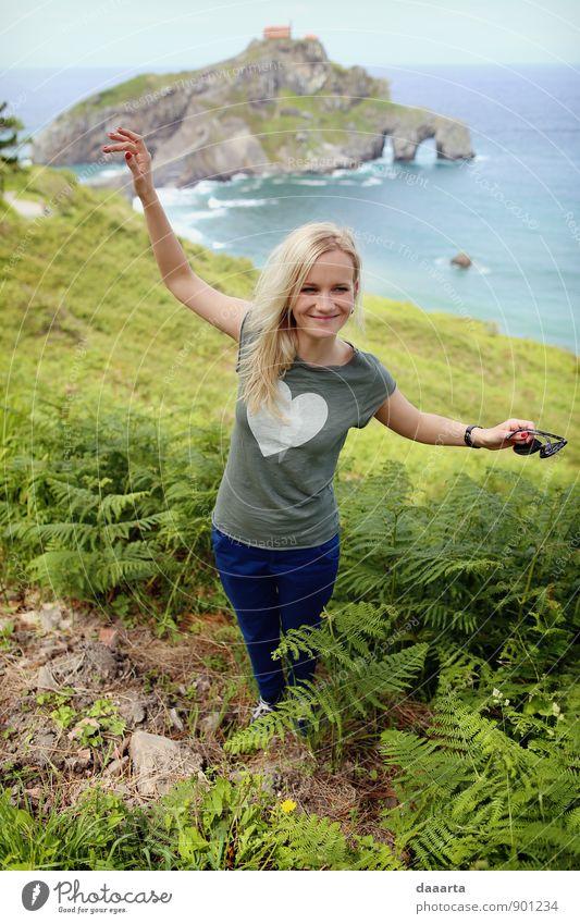 hh Lifestyle Stil Freude Freizeit & Hobby Ferien & Urlaub & Reisen Tourismus Ausflug Abenteuer Freiheit Sightseeing Meer Insel Feste & Feiern Tanzen feminin