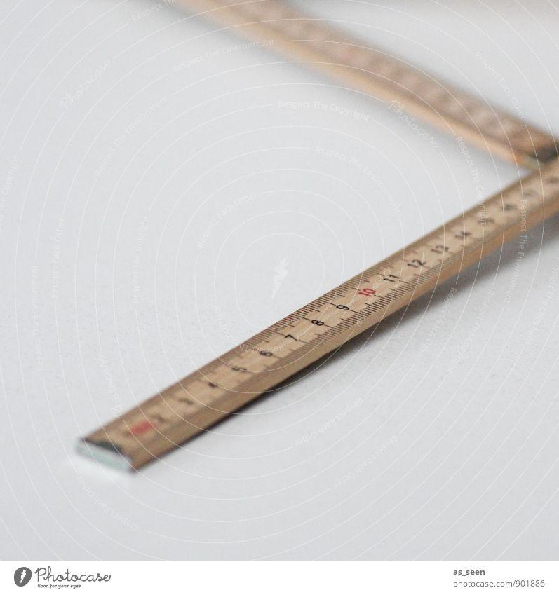 Vermessung Haus Renovieren Umzug (Wohnungswechsel) Architektur Tischler Handwerker Werkzeug Messinstrument Maßband Zollstock Bauwerk Holz Ziffern & Zahlen