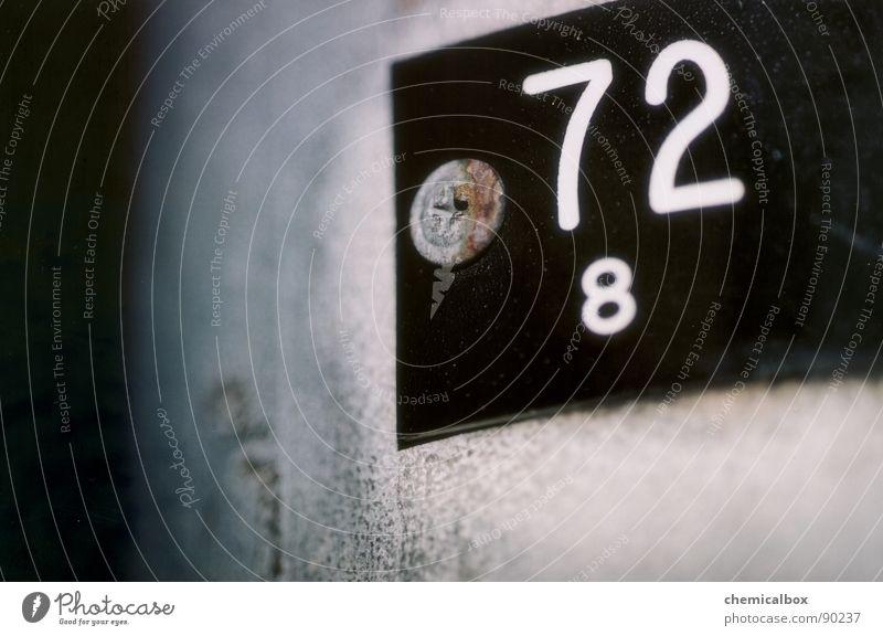 72 Schilder & Markierungen Verkehr Industrie Hinweisschild 8 Mechanik