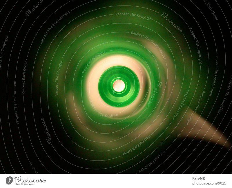 Auge Licht grün Fototechnik Kreis