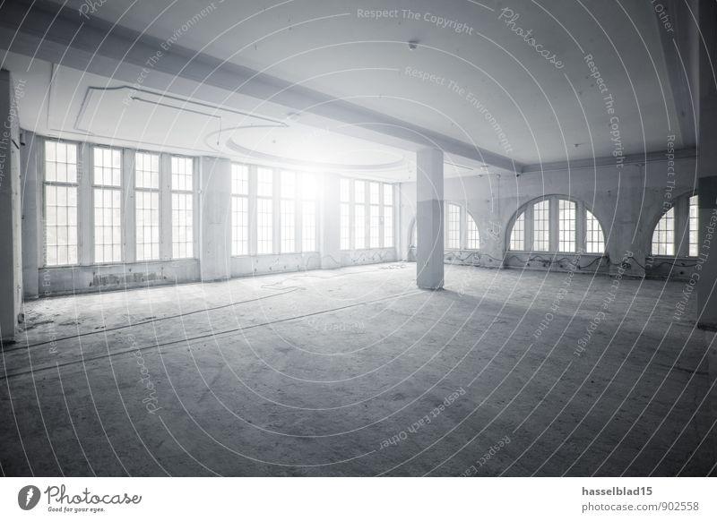 Hall of ... ruhig Fenster Innenarchitektur hell Wohnung Büro Dekoration & Verzierung groß leer Baustelle Fabrik Werkstatt harmonisch Club Reichtum Rauschmittel