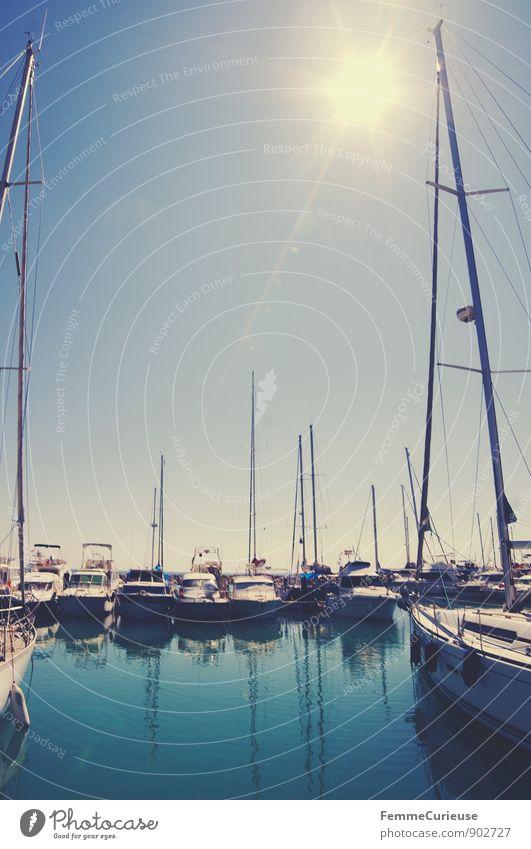 LaFrance_06 Lifestyle Freizeit & Hobby Sommer Sommerurlaub Meer Sport Wassersport Segeln Bewegung Saintes-Maries-de-la-Mer Südfrankreich Wasserfahrzeug