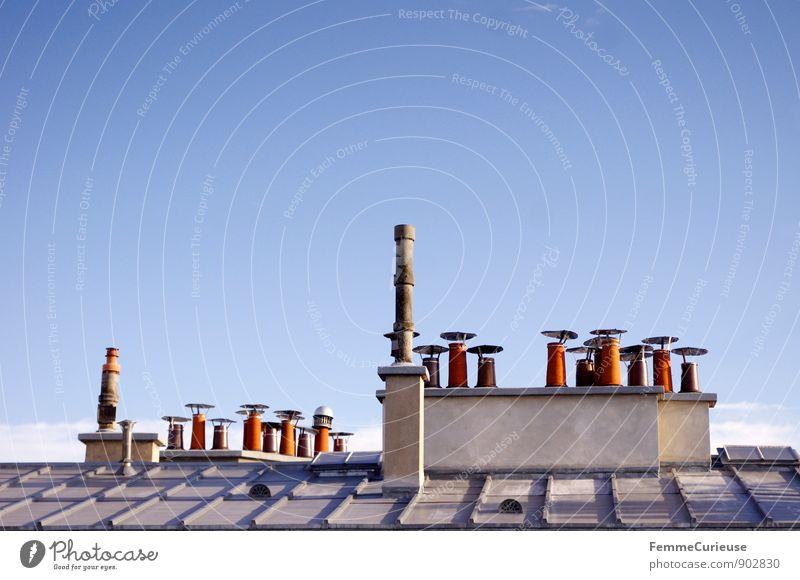 LaFrance_07 Energiewirtschaft Erneuerbare Energie Kleinstadt Stadt Hauptstadt Stadtzentrum Stadtrand Altstadt Haus Einfamilienhaus Traumhaus Dach Schornstein