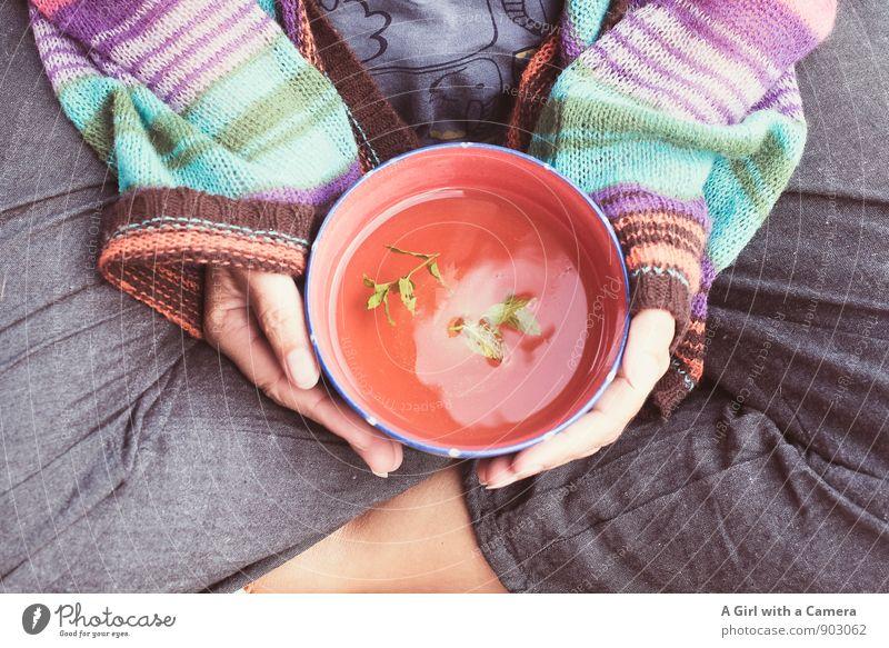 let's drink tea and talk about happy things Bioprodukte Getränk trinken Tee Geschirr Tasse Becher Lifestyle Gesundheit Wellness harmonisch Wohlgefühl
