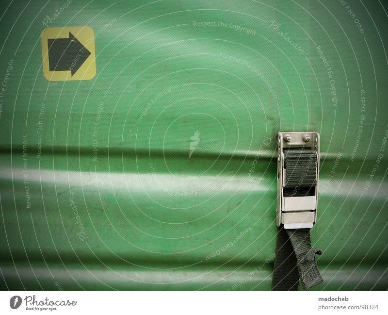 ICH BIN EIN ZAUNPFAHL gelb Schilder & Markierungen fangen Pfeil Richtung Umzug (Wohnungswechsel) Hinweisschild Piktogramm Abdeckung Ikon Verschluss