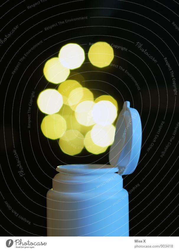 Blubble Gum fliegen Lebensmittel leuchten Ernährung Punkt Süßwaren Medikament Rauschmittel Blase Verpackung Zauberei u. Magie Dose Kunststoffverpackung aufmachen Tube Drogensucht