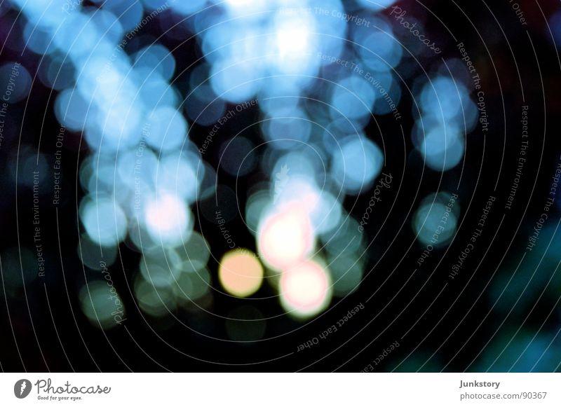 Tanz der Moleküle.. weiß schön blau Sonne schwarz kalt träumen Park Beleuchtung Hoffnung Vergänglichkeit Aussicht Surrealismus Himmelskörper & Weltall
